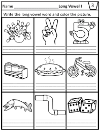 Below are our kindergarten phonics worksheet on identifying long vowels, lime the a in cake. Long Vowel I Teams Worksheets For Ie I E