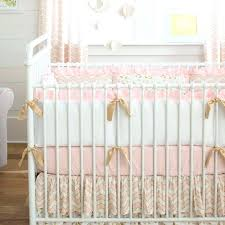 pink and gold baby bedding sets crib set nursery hot
