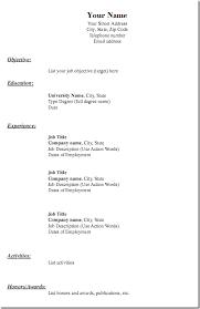Blank Resume Template Best Of Free Resume Templates Pdf Resume Template Pdf Blank Resume Templates