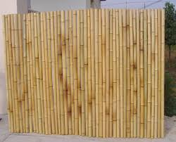 How To Build A Bamboo Fence This robust and Eco-friendly bamboo fencing  screening will make a perfect practical addition to your garden.