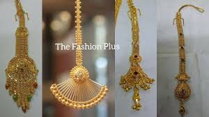 Gold Nethichutti Designs Latest Light Weight Gold Bindiya Maangtika Designs Under 4 To 10 Gram