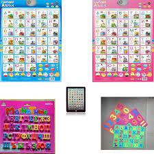 Us 5 0 35 Off Russian Language Learning Machine Baby Abc Alphabet Sound Chart Infant Preschool Early Learning Educational Phonetic Kid Gift In