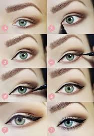 cat eyes are the dream of every woman along with a feline walk this look will help you look sharp and the steps are