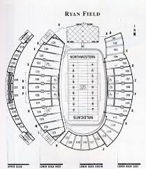 Ryan Field Seating Chart Northwestern Wildcats 2008 Football Schedule