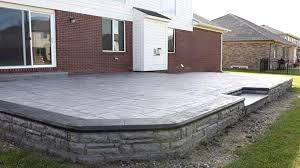 charming incredible concrete patio cost stamped patio flooring options stamped concrete patio cost cost of stamped