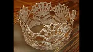 Crochet Crown Pattern Enchanting Crochet Crown And Tiara Free Pattern YouTube