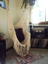 Hippy Hammock // Macrame Chair via Etsy.