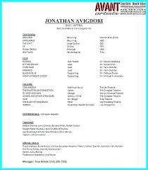Word Resume Builder This Is Acting Resume Builder Actor Resume Builder Theater Resume 99