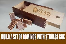 diy dominos glass impressions