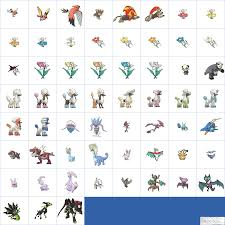 The Spriters Resource - Full Sheet View - Pokémon Ultra Sun / Ultra Moon -  Alola Dex Previews (6th Generation, Normal)