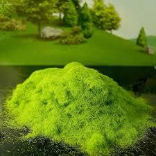 Artificial Grass Powder Sandbox Game Craft Decor Micro Landscape
