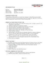 Supervisor Job Description For Resume Top 8 Supervisor Job