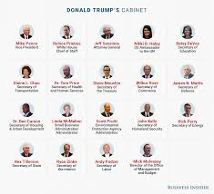 Meet The Cabinet Here Are The 24 People Trump Has Appointed