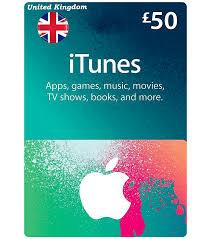 uk itunes card 50