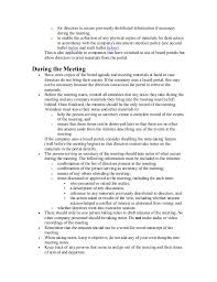 board of directors minutes of meeting template board of directors minutes checklist