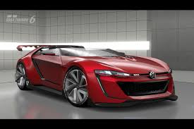 Volkswagen GTI Roadster Vision Gran Turismo Comes to Life ...