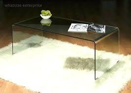clear acrylic coffee table side ikea