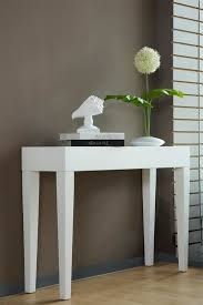 hall table white. 800mm White High Gloss Console Table Hall