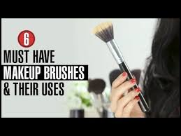 6 types of makeup brushes and how to use them effectively you