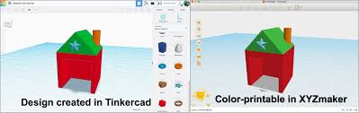 Tinkercad 3d Design Software Multicolor 3d Printing From Tinkercad To Xyz Mathgrrl