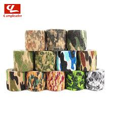 <b>Self adhesive telescopic</b> camouflage tape outdoor bionic <b>non woven</b> ...