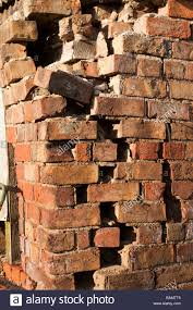 Crumbling Brick Wall Stock Photos Crumbling Brick Wall Stock