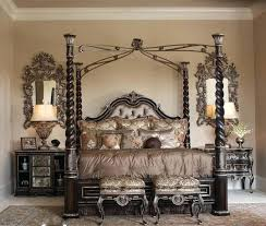 Iron Canopy Beds Wrought Bed Frame Queen Antique – Download House ...