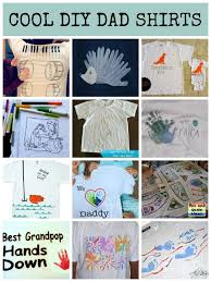 fathers day gift ideas diy shirts for dad from lalymom