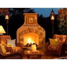 sonoma gas outdoor fireplace lo sonfs42lp t