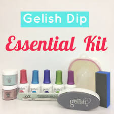 Details About Gelish Dip Sns 2 Dipping Powder Choice Of Color File Buffer Liquids Nail Kit