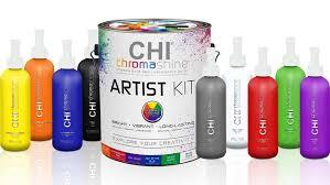 Farouk Chi Hair Color Chart Creativity Unleashed With Chi Chromashine Intense Bold Semi