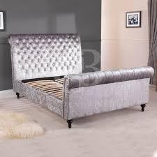 King Size Bedroom Furniture Superior Velvet Bedroom Furniture 2 Grey Velvet Upholstered King