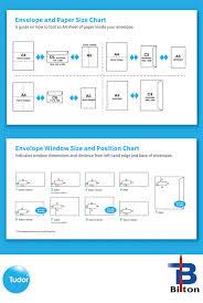 Envelope Paper Size Chart Bilton Graphics