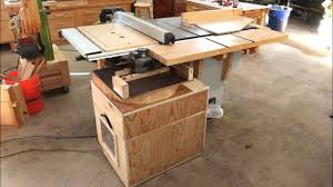 dedicated table saw dust collector