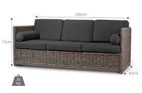 Replacement Cushions For Rattan Sofa 5860