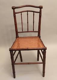Art Nouveau Chairs with Woven Seats 1910s Set of 4 for sale at