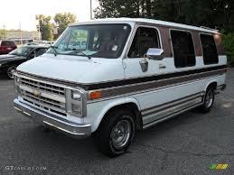 1991 White Chevrolet Chevy Van G20 Conversion #52971965 Photo #19 ...