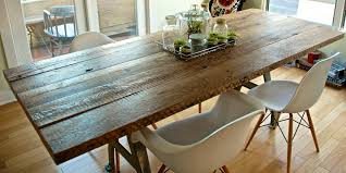 attractive reclaimed wood dining table diy 11 make elegant 249040