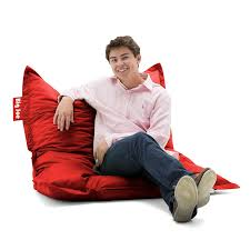amazoncom big joe original bean bag chair flaming red kitchen