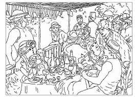 Renoir Disegni Da Colorare Per Adulti E Ragazzi The Baltic Post