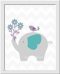 children wall decoration unique personalized baby nursery wall art elephants purple lavender teal