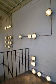 Funky lighting ideas Design Cool Alternative To Can Lights And Creates Cheap Funky Lighting Also Gives The Room An Industrial Feel Pinterest Cool Alternative To Can Lights And Creates Cheap Funky Lighting