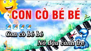 Con Cò Bé Bé Karaoke Nhạc Thiếu Nhi Hay | Karaoke Con Cò Bé Bé - YouTube