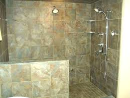 tile showers without doors walk in tiled shower designs tile ideas showers without doors snail enclosures