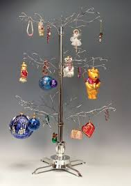 Ornament Hanger Display Stand Ornament Trees Rotating Large Squiggley Branches Ornament 2