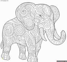 Elephant Mandala Coloring Pages Printable Elephant Mandala Coloring