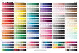 Colormatch Chart Match Your Dress Color Knotty Tie Co
