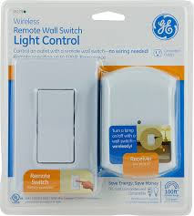 Ge Remote Access Amazoncom Ge Wall Switch Light Control Remote With 1 Outlet
