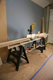 portable chop saw table. 1 x 16 8 pine or fir plywood board, for the base of miter-saw stand . portable chop saw table e