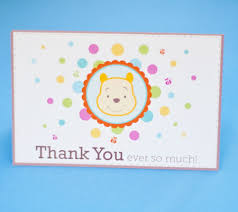Winnie The Pooh Thank You Notes | Disney Baby